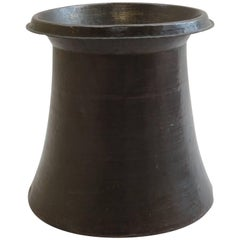 Large Arts and Crafts Hand Beaten Copper Planter or Umbrella Stand