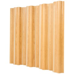 Large Ash Original Folding Screen or Divider by Charles and Ray Eames for Vitra