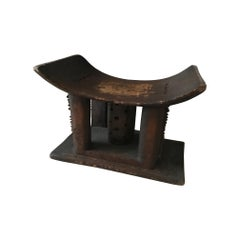 Large Ashanti Stool