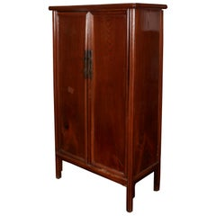 Large Asian Rosewood TV Cabinet