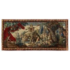Large Aubusson Tapestry, 1740 Gobelin