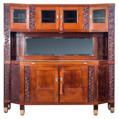 Large Austrian Sideboard by Koloman Moser for August Ungethüm, 1904