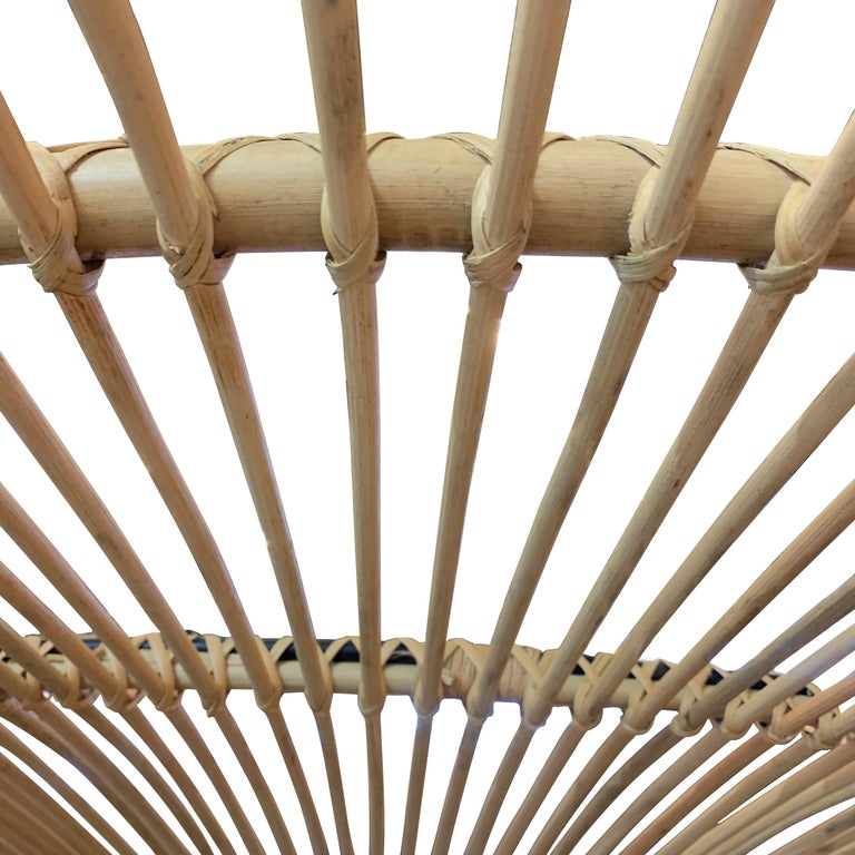 Indonesian Large Bamboo Chandelier, Indonesia, Contemporary For Sale