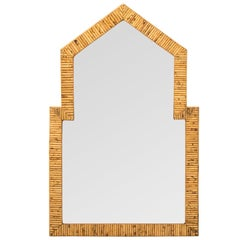 Large Bamboo Mirror