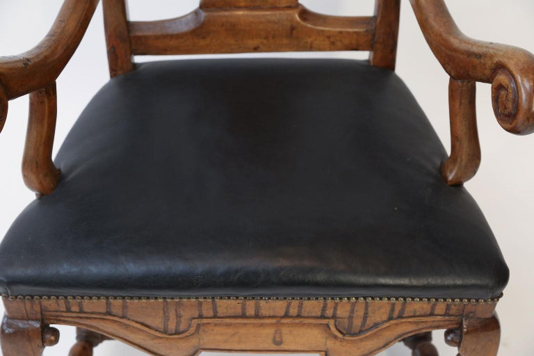 Large Baroque Swedish Armchair For Sale 1