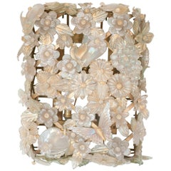 Large Barovier & Toso Murano Gold Glass Sconce