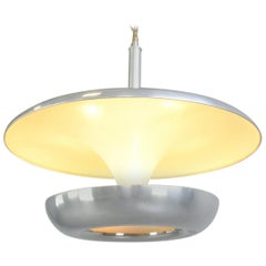 Large Bauhaus Pendant Light by Franta Anyz, circa 1920s