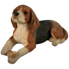 Large Beagle Dog Sculpture