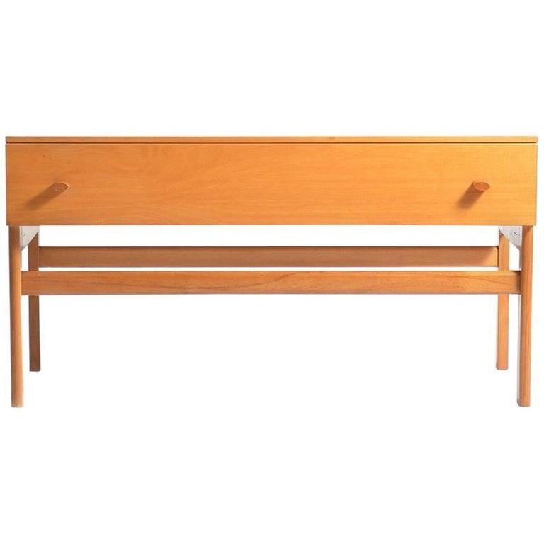 Large Bedside Table by Jitona, Czechoslovakia, circa 1970 For Sale