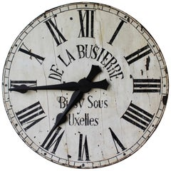 Large Belgian Wooden Clock