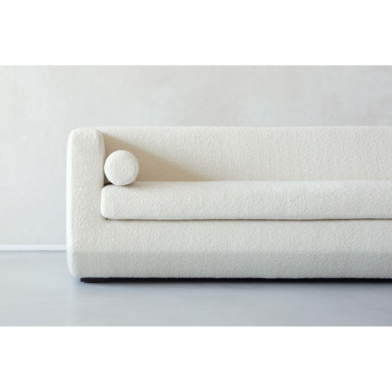Modern Large Beveled, Couch by Marc Dibeh For Sale