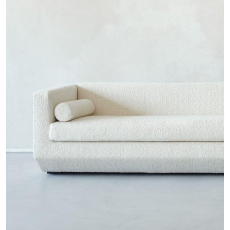 Lebanese Large Beveled, Couch by Marc Dibeh For Sale