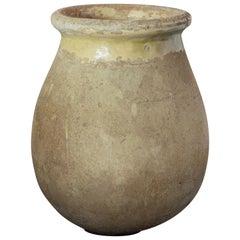 Large Biot Garden Urn or Oil Jar from France
