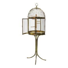 Large Bird Cage, Possibly Josef Denk, Vienna, circa 1900