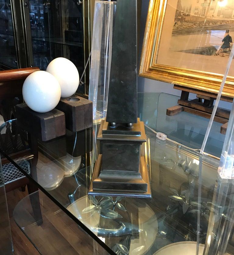 Large Brass Obelisk For Sale 4