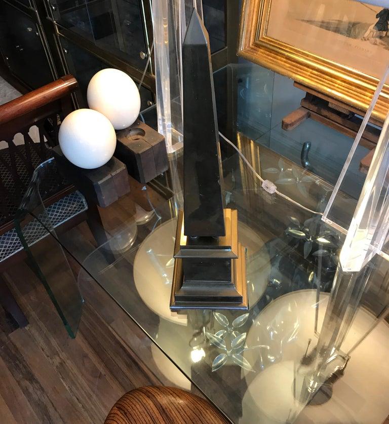 Large Brass Obelisk For Sale 6