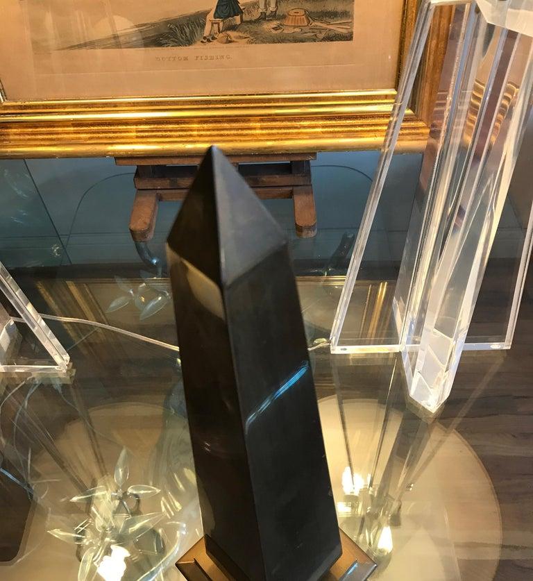 Large Brass Obelisk For Sale 10