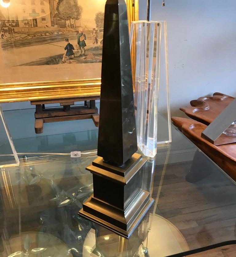 Large Brass Obelisk For Sale 11
