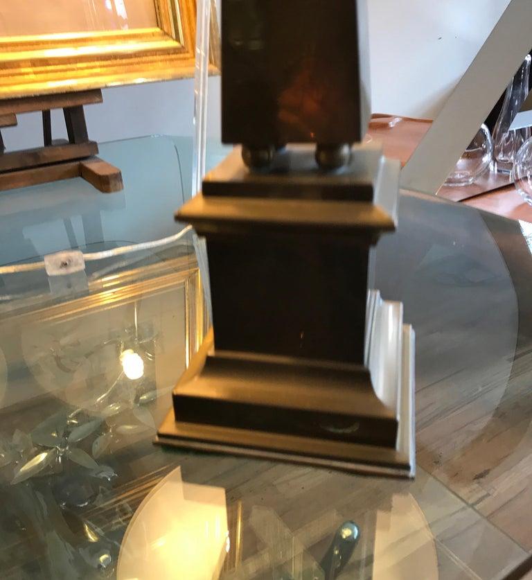 Large Brass Obelisk For Sale 14