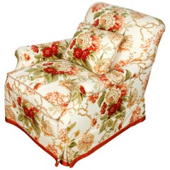 Large Bridgewater Upholstered Chair in Cowtan and Tout Fabric