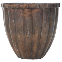 Large Bronze Architectural Planter