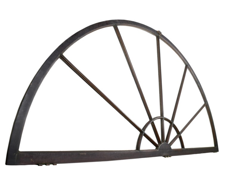 American Large Bronze Clad Arched Windows For Sale
