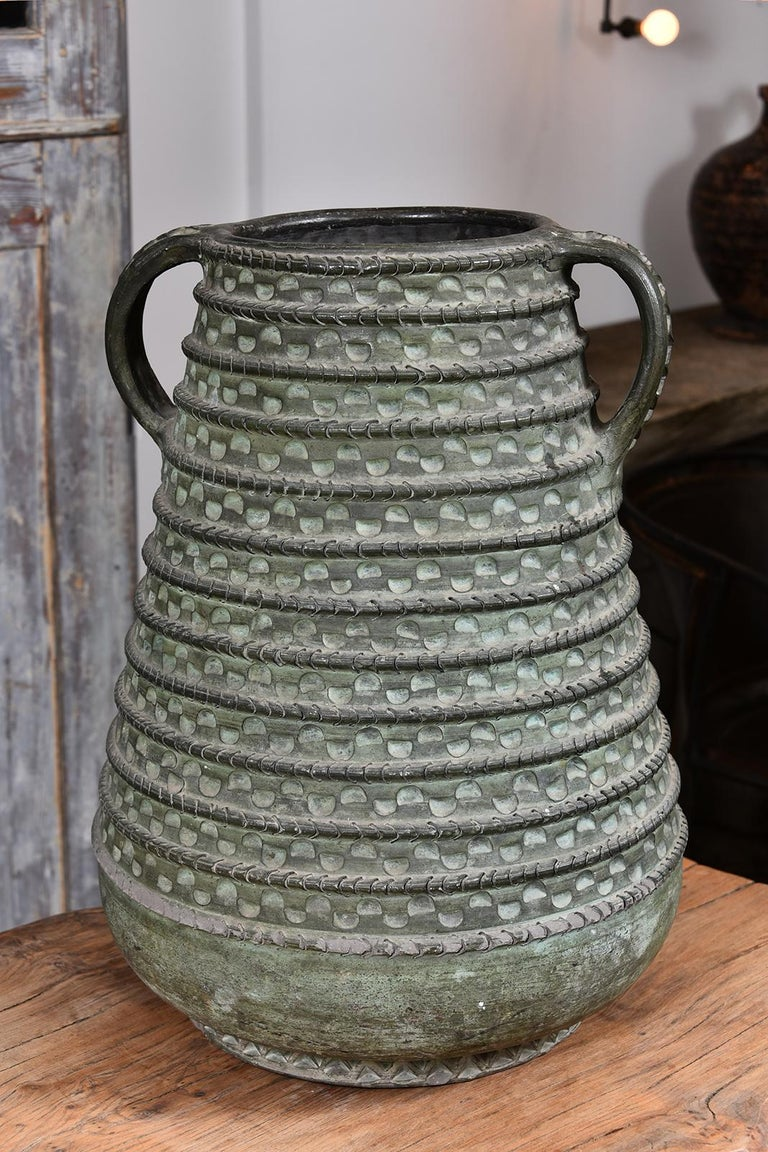 Large Bronze French Vase For Sale 6