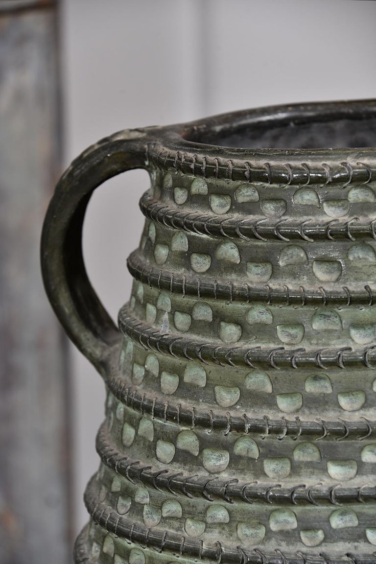 Large Bronze French Vase For Sale 7