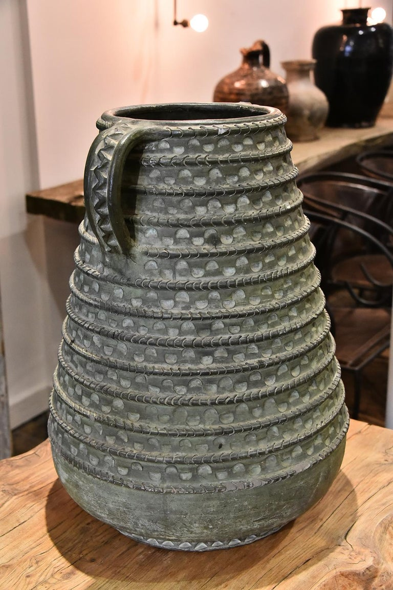 Large Bronze French Vase For Sale 1