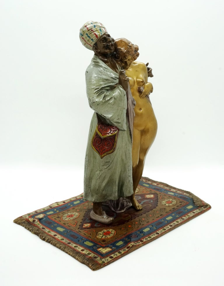 Excellent piece of Viennese bronze art