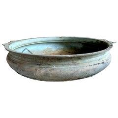 Large Bronze Urli Bowl, India