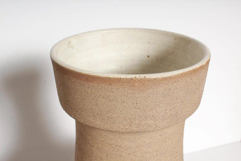 Italian Large Bruno Gambone Vase For Sale