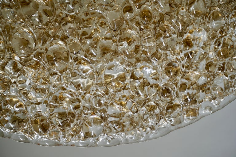 Large Bubble Glass Flush Mount Helena Tynell Style, 1960s For Sale 4