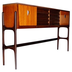 Large Cabinet in Teak and Rosewood, United Kingdom, 1967