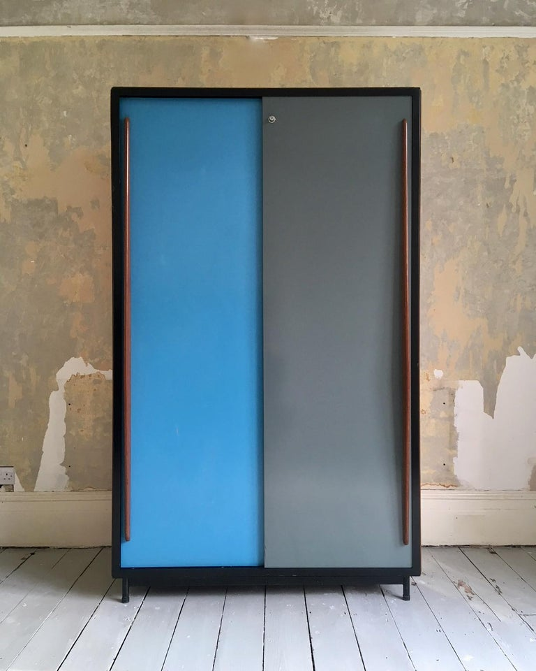 A large cabinet by Willy Van Der Meeren for Tubax, Belgium, 1950s.