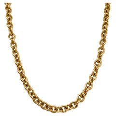Large Cable Chain 14k Gold, Gold Cable Chain, Unisex