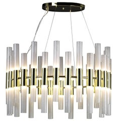 Large Candele Fifty Six-Light Chandelier