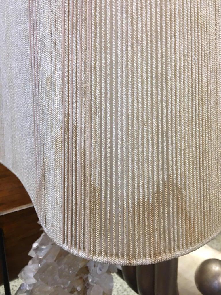 Large Carole Stupell Quartz Crystal Lamp, 1950s For Sale 7