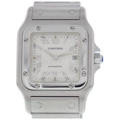 Large Cartier Santos Galbee Automatic 2319