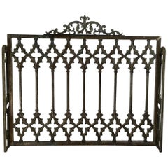 Large Cast Iron Fireplaces Screen