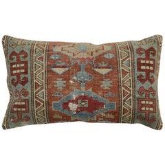 Large Caucasian Floor Size Rug Rustic Pillow