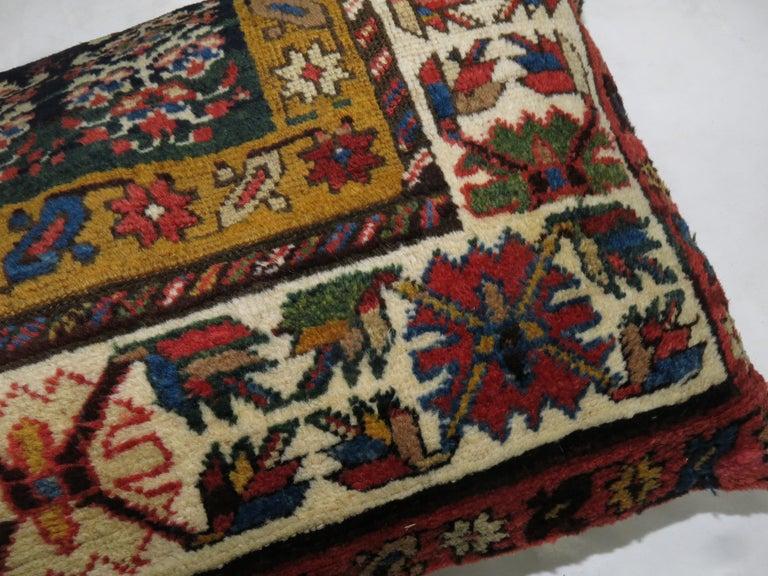 Kazak Large Caucasian Shirvan Pillow For Sale