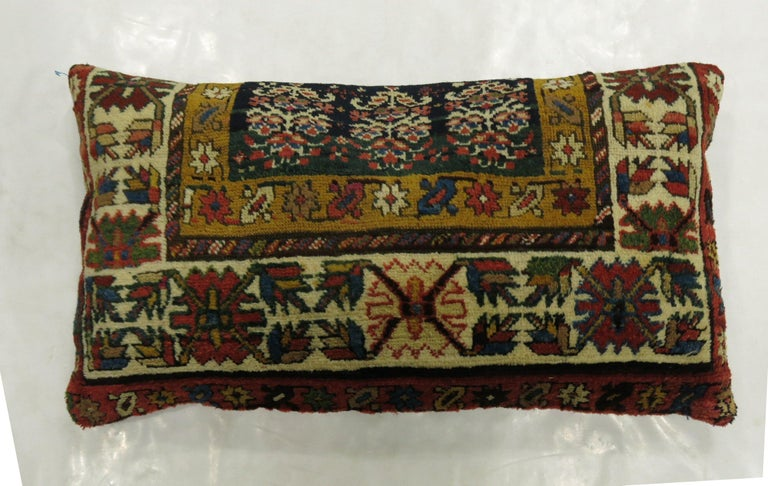 Contemporary Large Caucasian Shirvan Pillow For Sale