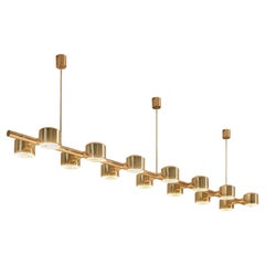 Large Ceiling Light by Hans Agne Jakobsson with Length of 10.5 ft.