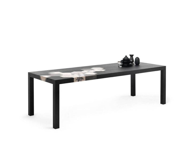 Modern Large Cementino Dining Table in Natural Finish by Mogg For Sale