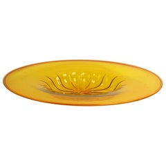 Large Centerpiece Bowl by Vittorio Zecchin for Venini