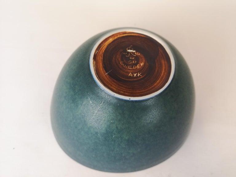 Large Ceramic Bowl Rörstrand Gunnar Nylund, Sweden, 1950s For Sale 1