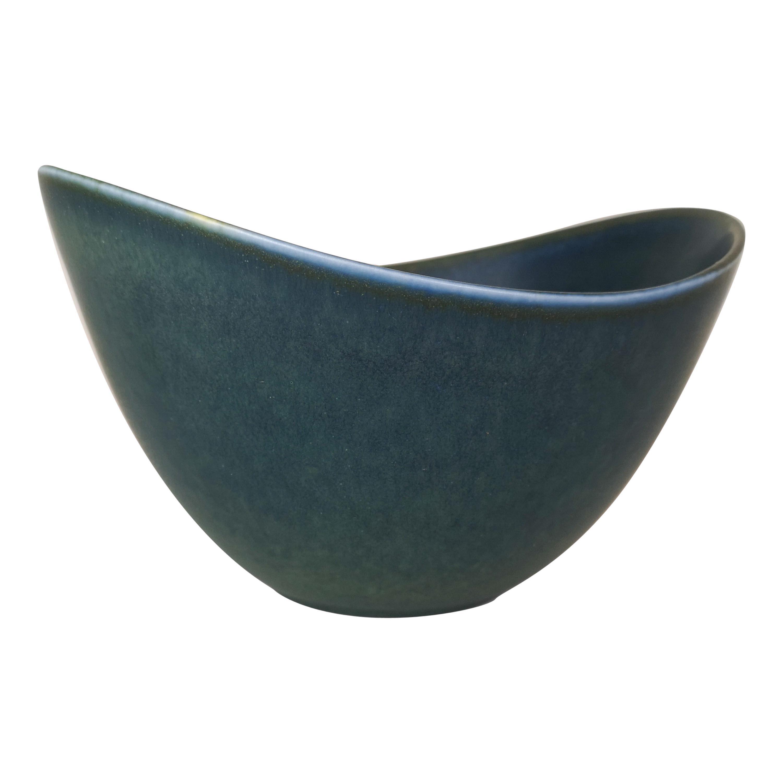 Large Ceramic Bowl Rörstrand Gunnar Nylund, Sweden, 1950s
