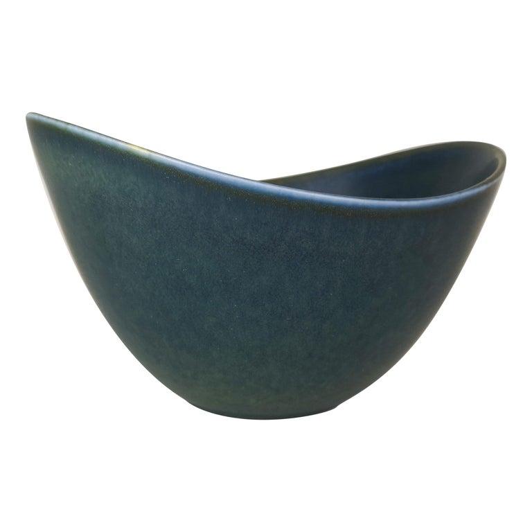 Large Ceramic Bowl Rörstrand Gunnar Nylund, Sweden, 1950s For Sale