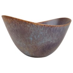 Large Ceramic Bowl Rörstrand Model AXK Gunnar Nylund, Sweden, 1950s